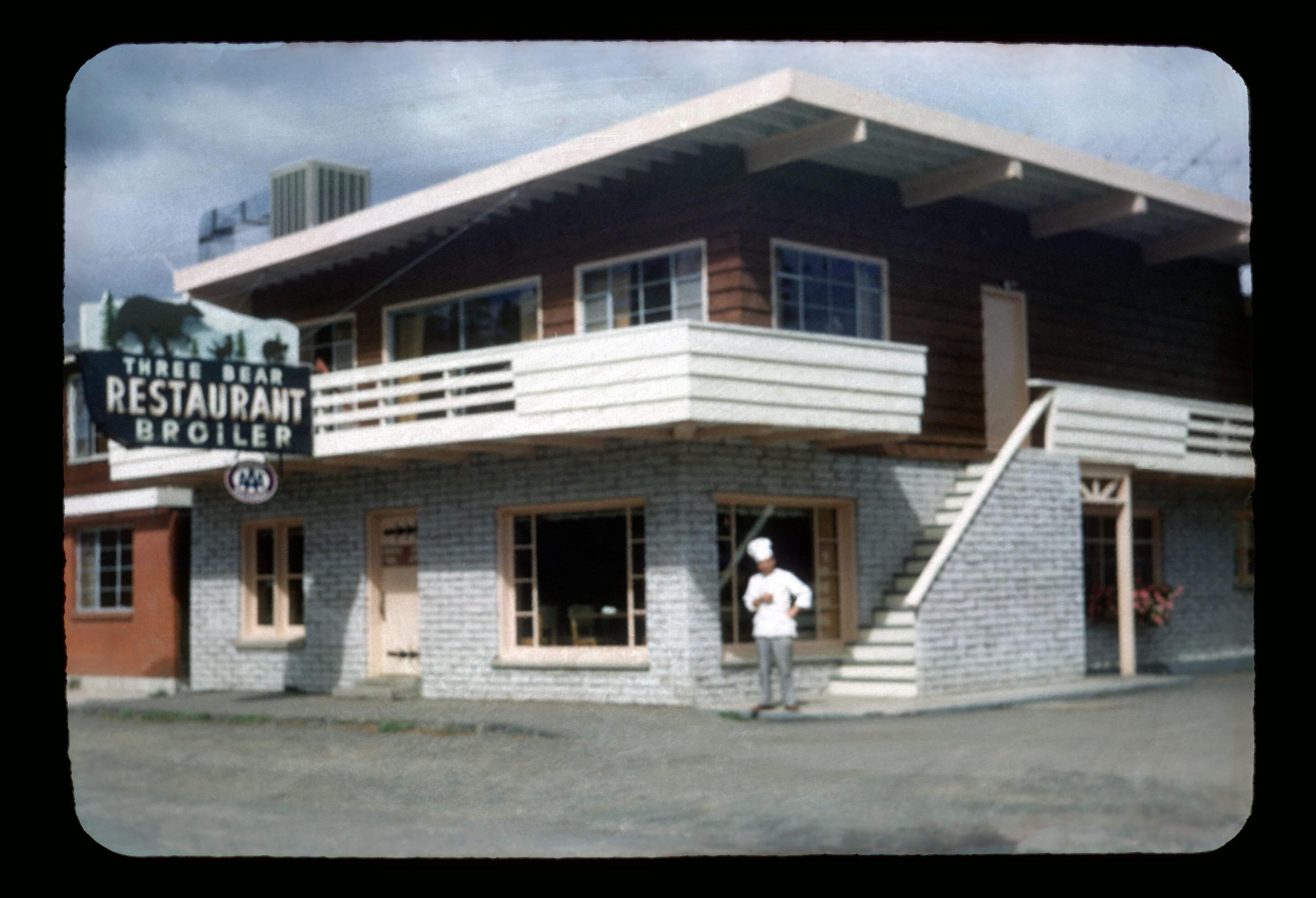 1961-Three Bear Restraunt